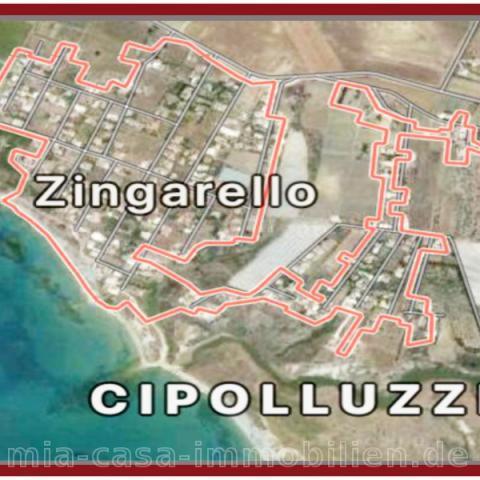 Luftaufnahme der Stadt Zingarello